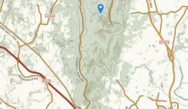 Frederick Municipal Frst Map