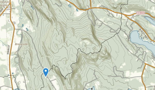 East Mountain State Forest Map