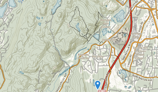 Campgaw Mountain County Park Map