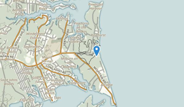 Downs Memonal Park Map