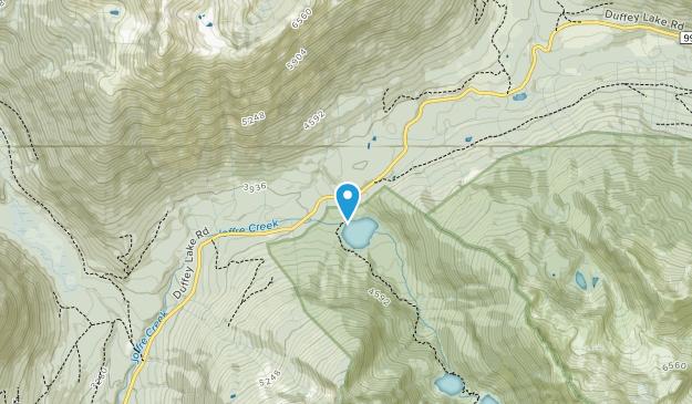 Joffre Lakes Provincial Park Map