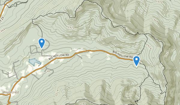 Windham High Peak Map