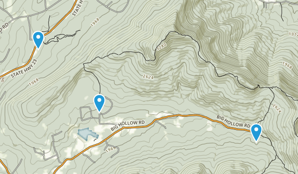 Windham High Peak Map