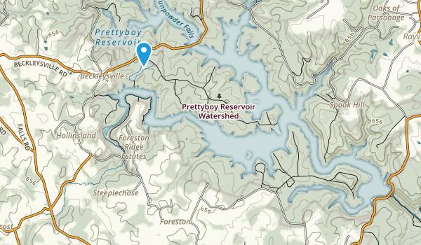 Prettyboy Reservoir Park Map