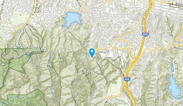 Westridge Canyonback Wilderness Park Map