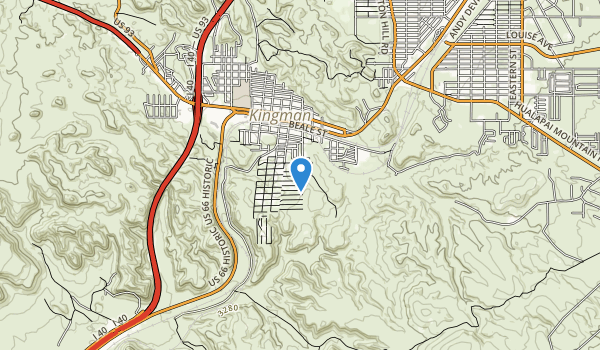 trail locations for Southside Park