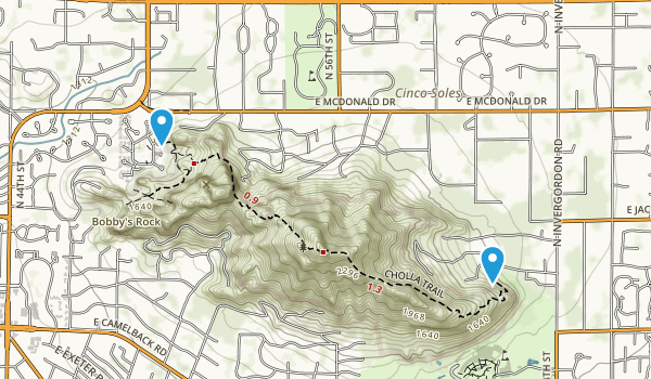 Echo Canyon Park Map