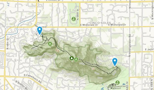 Echo Canyon Park Map