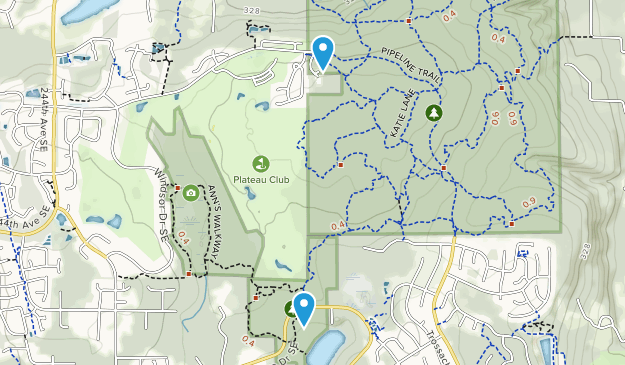 Soaring Eagle Regional Park Map
