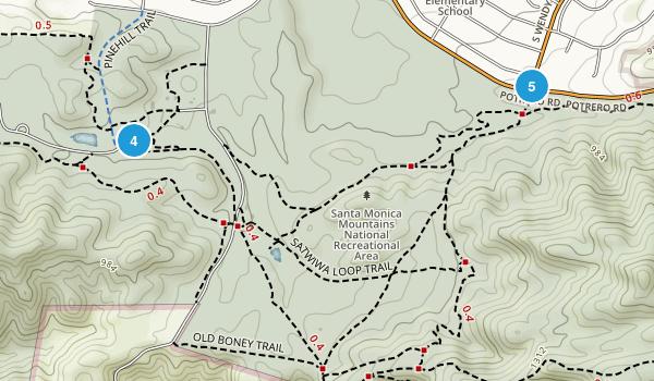 Rancho Sierra Vista Satwiwa Map
