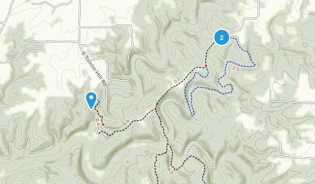 Three Creeks Conservation Area Map