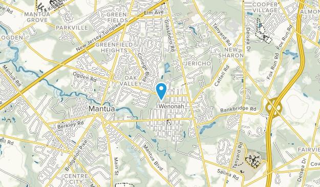 Aka Mantua Township Recreation Area Map