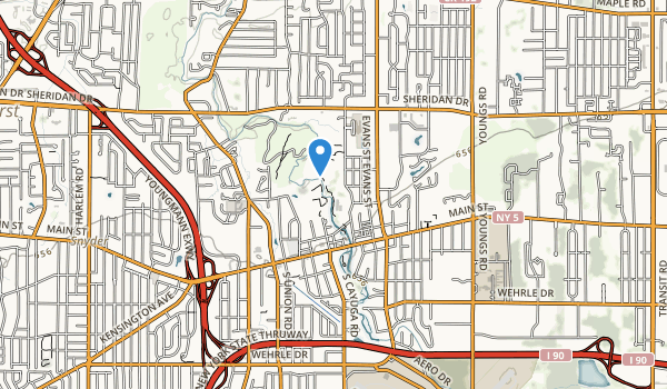 trail locations for College Park