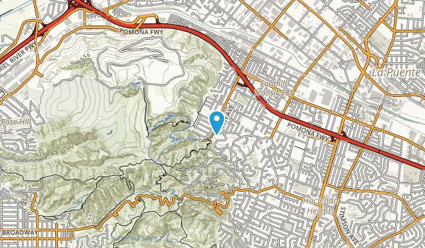 Hellman Wilderness Park Map