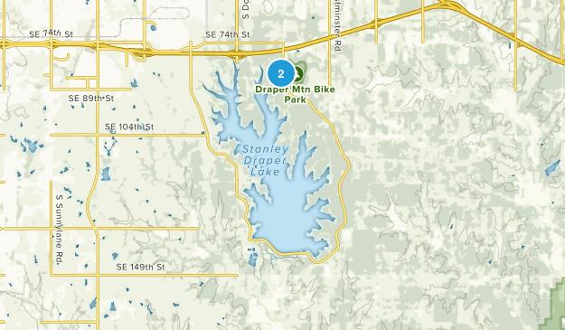 Lake Stanley Draper Map