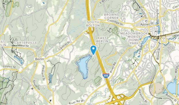 Brewer Brook Area Map