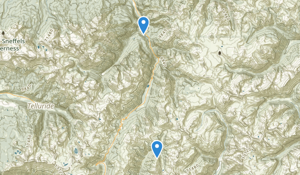 trail locations for Ouray Ke Park