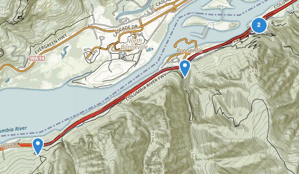 John B Yeon State Park Map