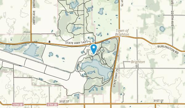 Richard Bong Recreation Area Map