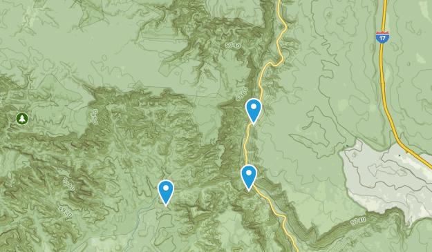 Área de Swim Rock Map