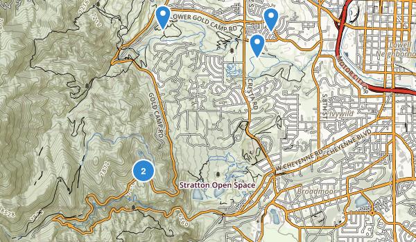 Bear Creek Regional Park Map