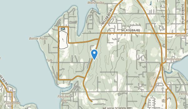 Battle Point Park Map
