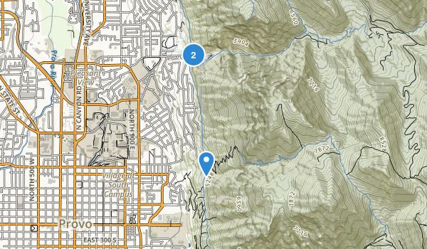 Rock Canyon Park Map