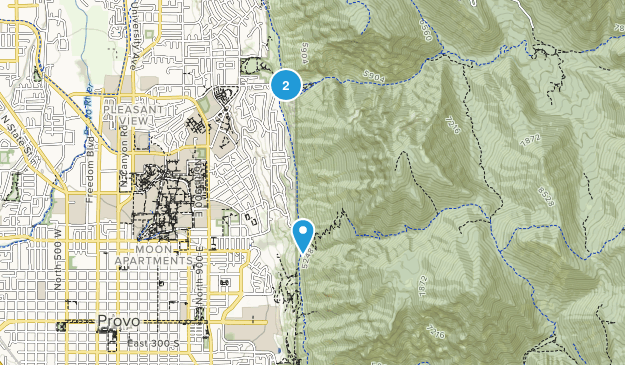 Rock Canyon Park Map