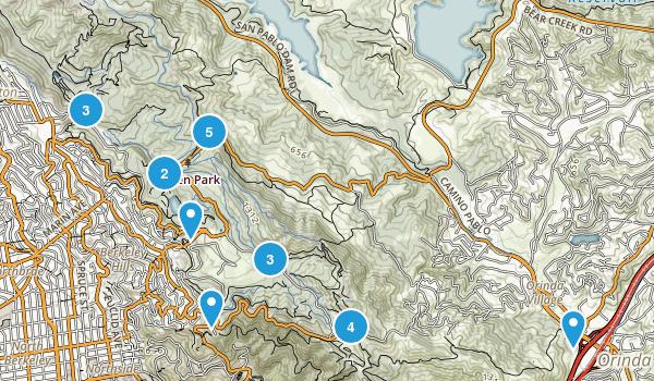 Tilden Regional Park Map