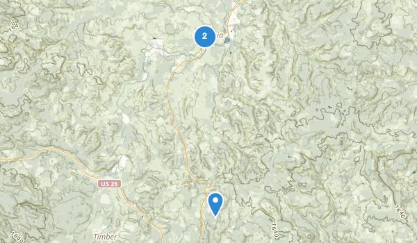 trail locations for LI Stub Stewart State Park