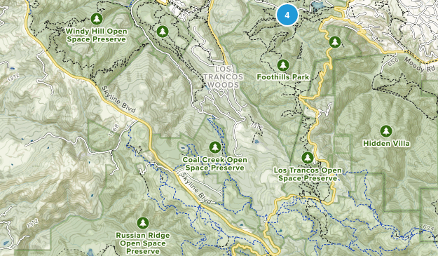 Foothills Park Map