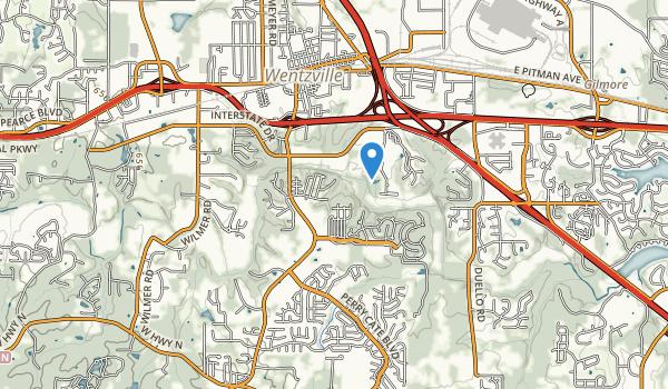 Quail Ridge Park Map