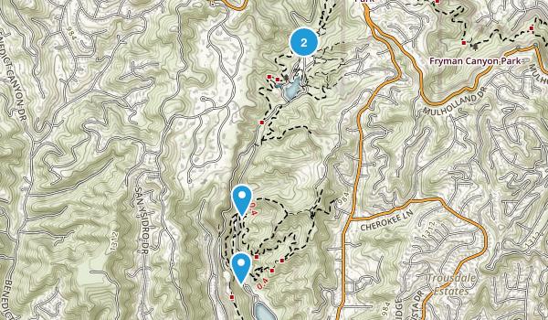 Frankiln Canyon Park Map