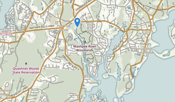 John Austin Forest Map
