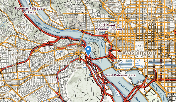 Potomac Overlook Park Map