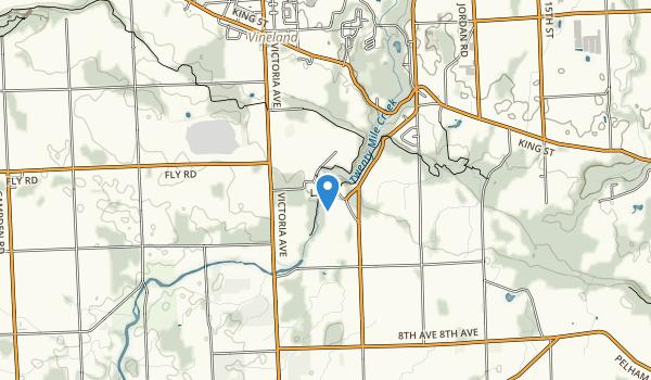 trail locations for Jordan Hollow Park