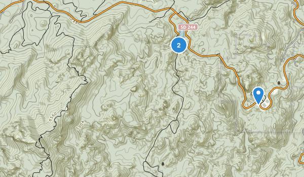 Mt Rushmore National Memorial Map