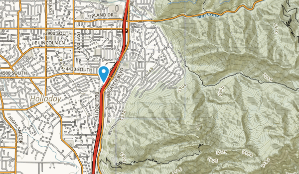 Olympus Hills Park Map