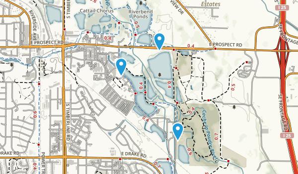 Cottonwood Hollow Natural Area Map