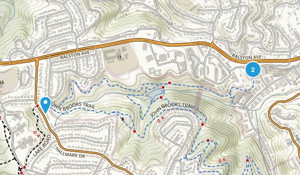 Water Dog Lake Park Map