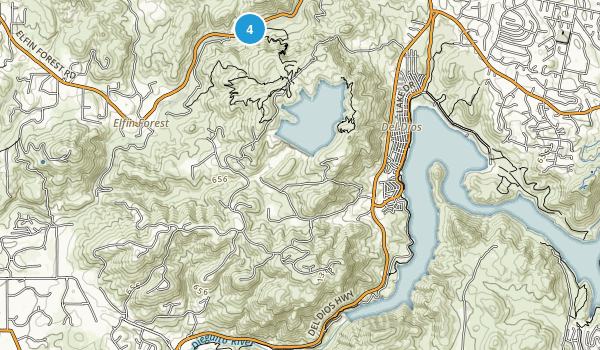 Elfin Forest Recreational Reserve Map