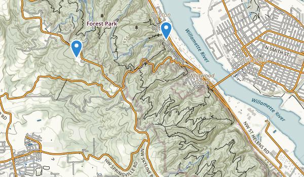 Linnton Park Map