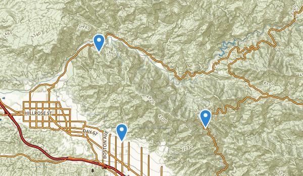 Deukmejian Wilderness Park Map