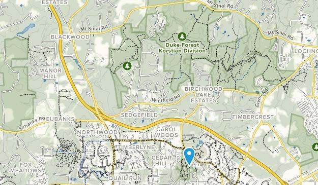 Cedar Falls Park Map