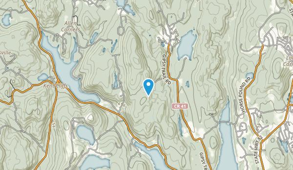 Ninham Mountain State Multain Use Area Map
