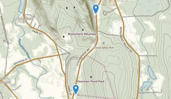 Fountain Pond Park Map