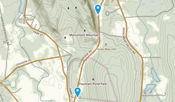 Fountain Pond Park Map