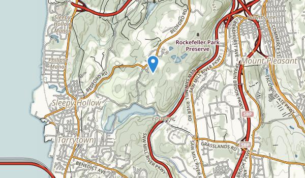 Tarrytown Lakes Park Map