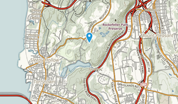 Tarrytown Lakes Park Map