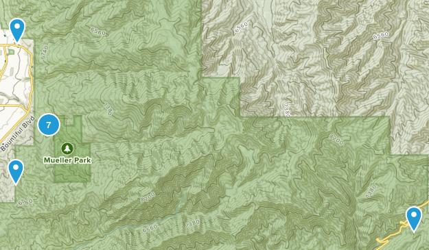 Mueller Park Map